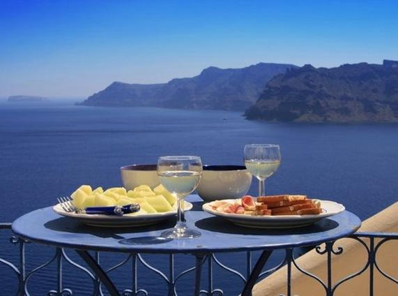 Greek Table Food