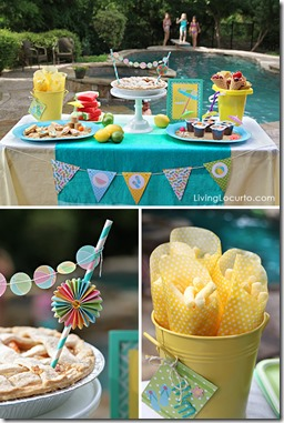 Pool-Party-Dessert-Table